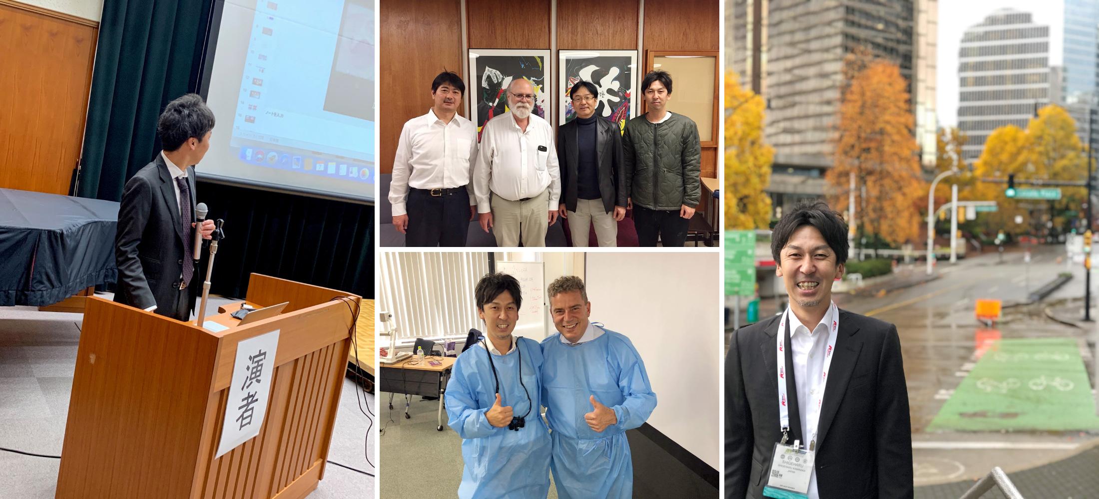 常に最新医療を学び続けるため、多くの学会参加・講演を行っています。