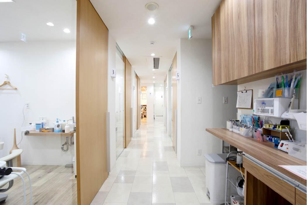 全室完全個室の診療ブース