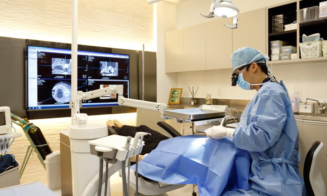 麻酔医の管理下で行う無痛治療