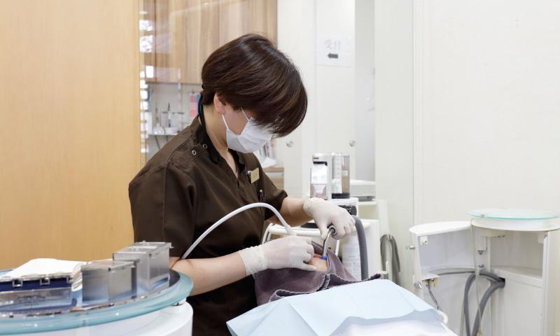歯科衛生士による指導など